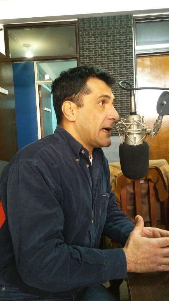 Photo of Cpn, Hector Chiban, nos visito en nuestro Estudio de R10