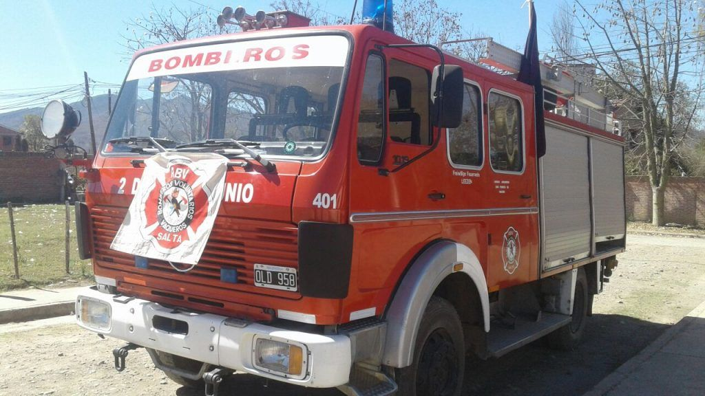 Photo of Bomberos Voluntarios de la Localidad de Vaqueros.
