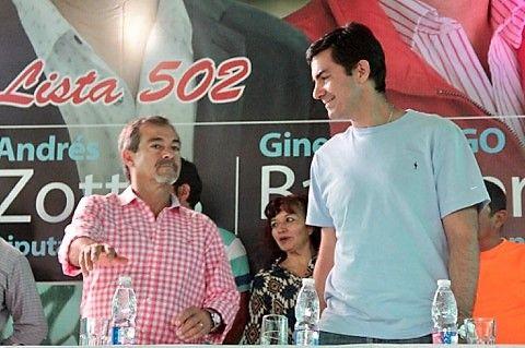 Photo of «Gallego» Gines Garcia, Candidato a Intendente, Coronel Moldes.