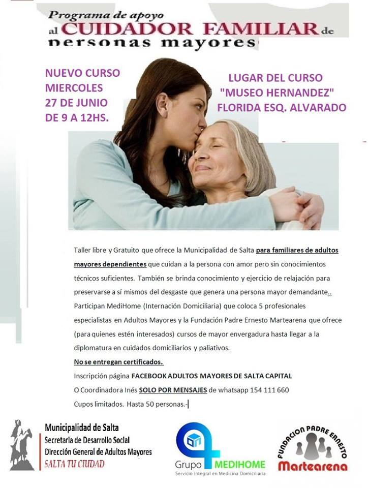 Photo of 27 de junio, » Cuidando al Cuidador»