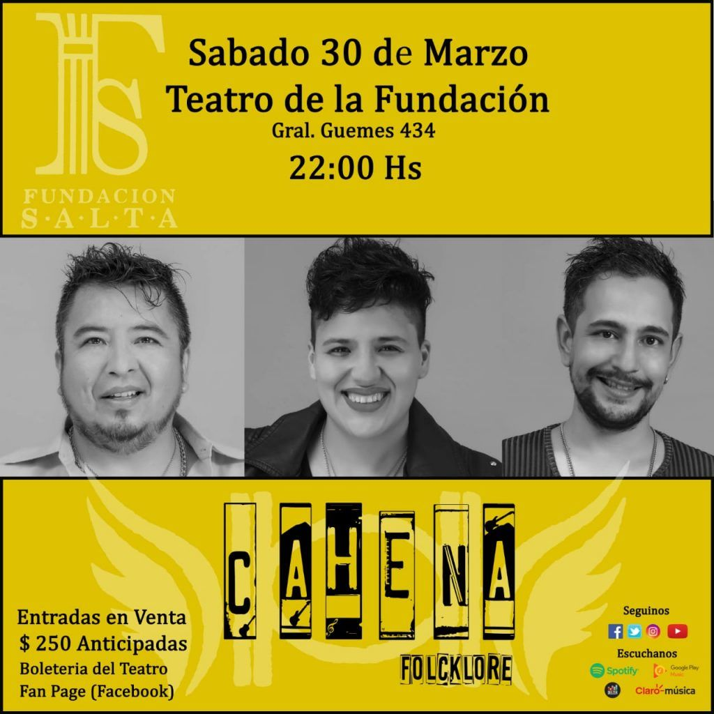 "Photo of ""CAHENA SOLIDARIA""- Marzo 30- 21 hs."