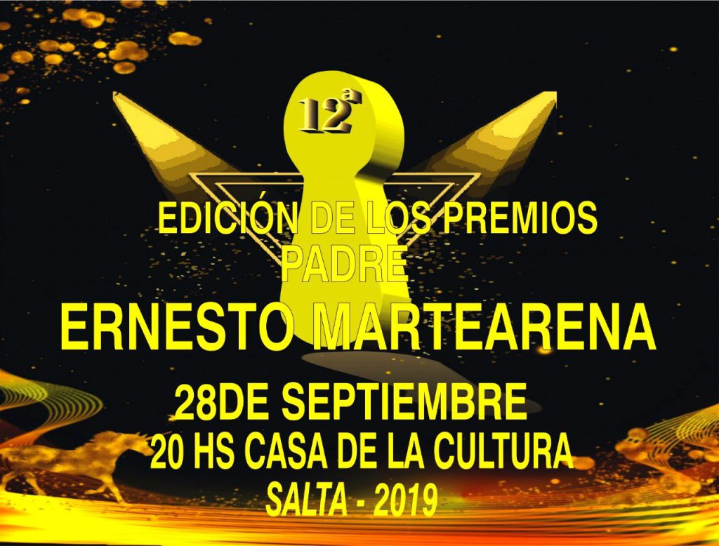 Photo of 12º EDICIÓN PREMIOS PADRE E. MARTEARENA