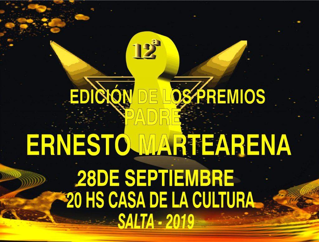 Photo of 12º EDICION PREMIOS PADRE ERNESTO MARTEARENA