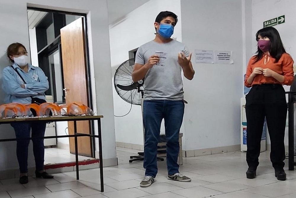 Photo of Vaqueros: Un terciario hizo máscaras 3D para agentes territoriales del Ministerio de Desarrollo Social