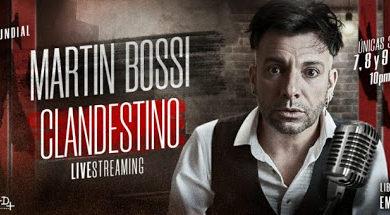 Photo of Martín Bossi . «25.000 son los tikets vendidos para «Bossi Clandestino».