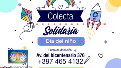 Photo of Sebastián Stone apela a la solidaridad de los salteños para ayudar a un merendero a festejar el Día del Niño.