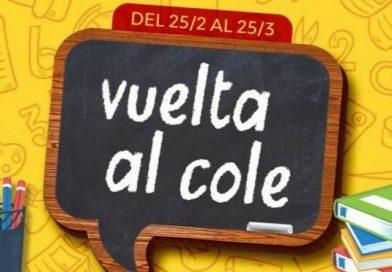 """""""Vuelta al cole"""" continúa la promoción hasta el 25 de marzo"""