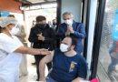 Visita presidencial: esta tarde Fernández concurrió a la Unidad Sanitaria Ambiental de la Autoridad de Cuenca Matanza-Riachuelo.
