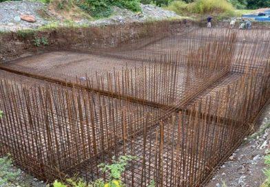 Metán: avanza la obra en la planta potabilizadora para mejorar el agua