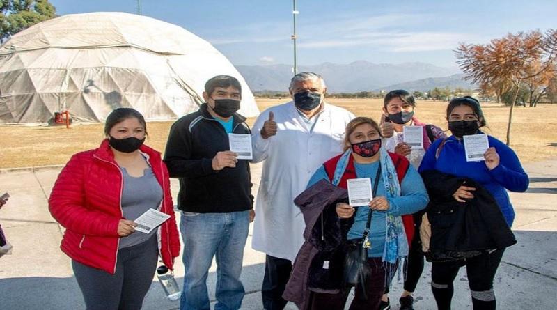 La provincia recibió mas de un millón de vacunas contra el covid-19